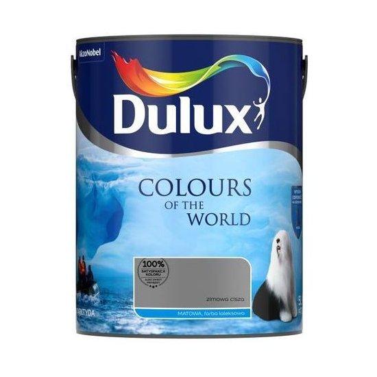 Farba do wnętrz Zimowa Cisza 5L Kolory świata DULUX