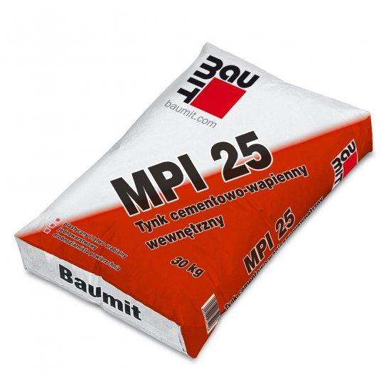Baumit MPI 25  Tynk cementowo-wapienny wewnętrzny 30kg