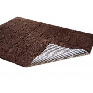 Dywanik łazienkowy brązowy TUVA HOME