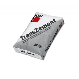 Baumit TrassZement Cement portlandzki wysokiej klasy z trasem 25kg