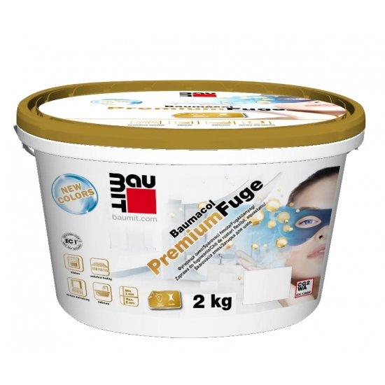 Baumit Premium Fuge 2kg cement grey Zaprawa do fugowania