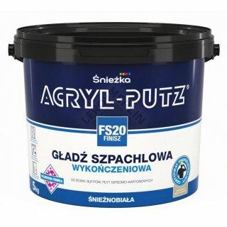 Gotowa masa szpachlowa Acryl Putz FS20 5 kg ŚNIEŻKA