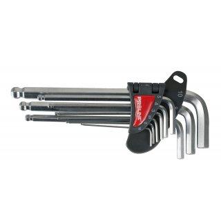 Klucze imbusowe z kulką zestaw 1.5-10mm PROFIX