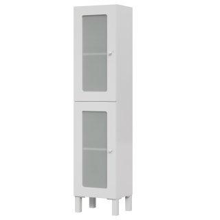 Słupek szafka łazienkowa Arteco 150 cm biały  CERSANIT