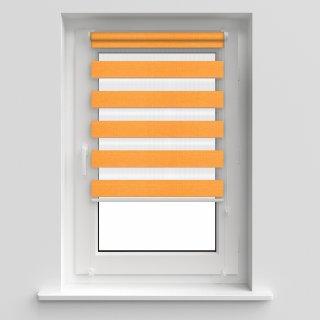 Roleta 50x140 Zebra I pomarańcz DECODESIGN