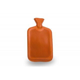 Termofor gumowy 2 L pomarańczowy FLORENTYNA