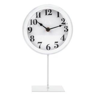 Zegar stojący 16x10x27,5 cm biały EM&EM