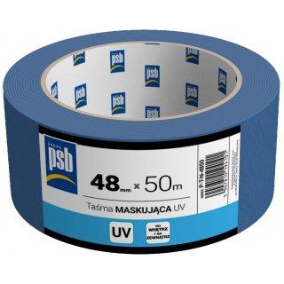 Taśma malarska maskująca UV 48 mm x 50 m PSB