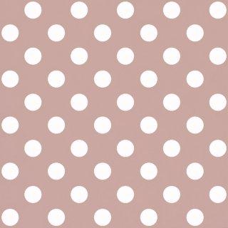 Tapeta papierowa różowo białe kropki 10 mb POLAMI