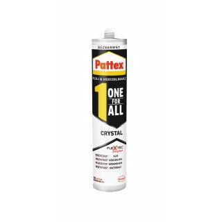 Henkel PATTEX ONE FOR ALL CRYSTAL 290g PL