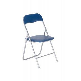 Krzesło składane PEDRO kolor niebieski NOWY STYL
