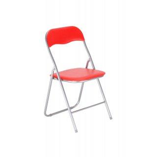 Krzesło składane PEDRO kolor czerwony NOWY STYL
