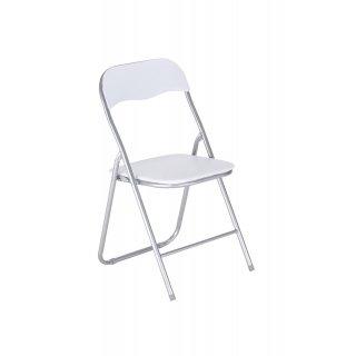 Krzesło składane PEDRO kolor biały NOWY STYL