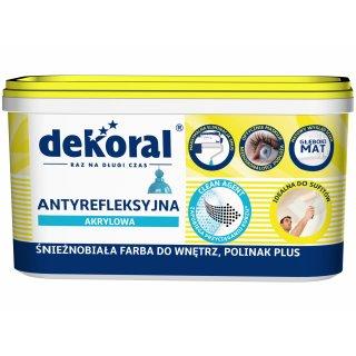 Antyrefleksyjna farba akrylowa Polinak Plus 1 L DEKORAL