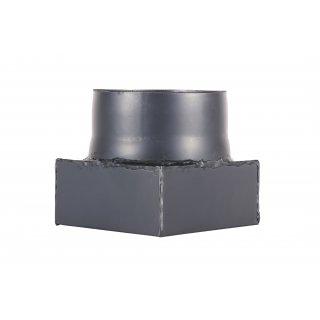 Przejście dymowe 14,5x14,5 cm, fi 16 cm RADECO
