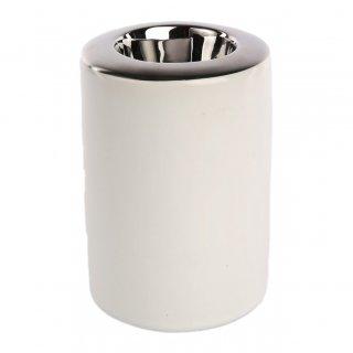 Świecznik silver 8x8x11,5 cm ALTOM