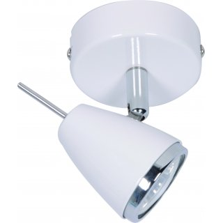 Lampa kinkiet Latte 1 biały ADRILUX