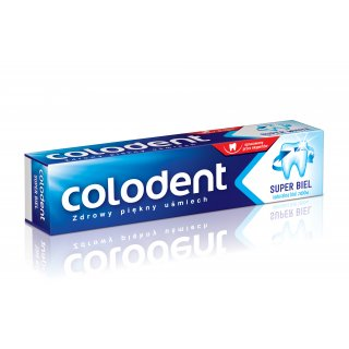 Pasta do zębów 100 ml super biel COLODENT