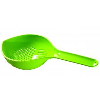 Cedzak z rączka essential zielony GALICJA