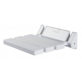 krzesełko prysznicowe białe BISK