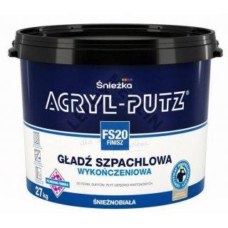 Gotowa masa szpachlowa Acryl Putz FS20 27 kg ŚNIEŻKA