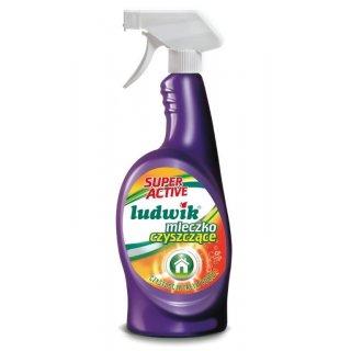 Mleczko do czyszczenia Super Active w sprayu 750 ml LUDWIK