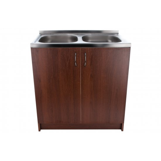 Szafka kuchenna pod zlewozmywak 80x50 orzech rustical