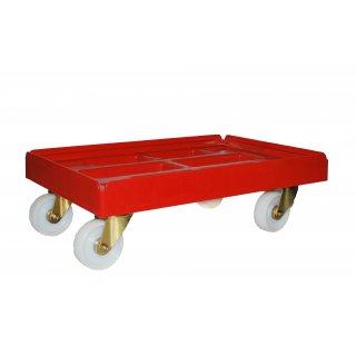 Wózek platforma transportowa Robusto czerwona KEEEPER