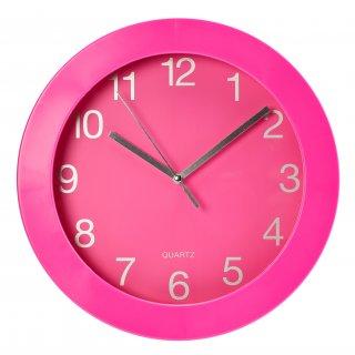 Zegar ścienny Billy różowy GALICJA