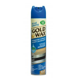 Anty kurz do pielęgnacji mebli w sprayu 250 ml GOLD WAX