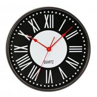 Zegar ścienny Oscar czarny GALICJA