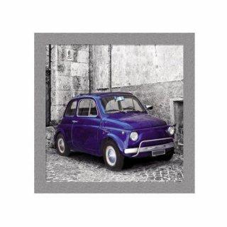 Obraz na ścianę motyw niebieski samochód KNOR