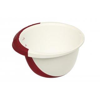 Miska do miksowania 3,5 l Deluxe biały/red OKT