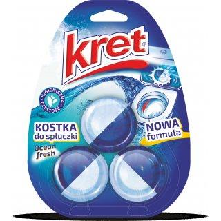 Kostki do WC 3x50 g Ocena Fresh KRET