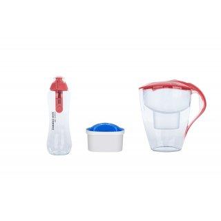 Dzbanek filtrujący + butelka fitrująca + wkład zestaw DAFI