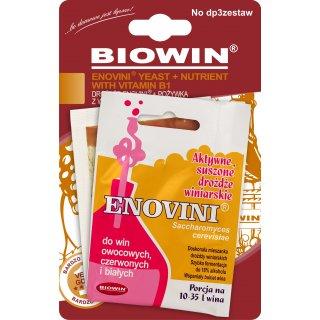 Drożdże Enovini + Pożywka z wit. B1 BROWIN