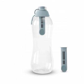 Butelka filtrująca 0,7 stalowa z 2 wkładmi DAFI