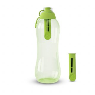 Butelka filtrująca 0,7 L limonka z 2 wkładami DAFI