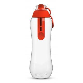 Butelka filtrująca z wkładem czerwona 0,5 L DAFI