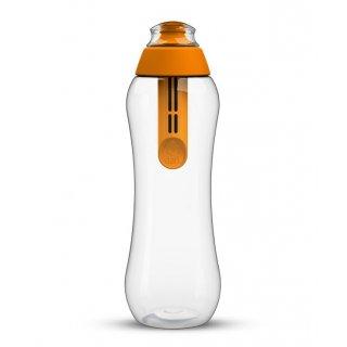 Butelka filtrująca z wkładem mandarynkowa 0,5 L DAFI