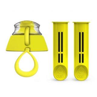 Zestaw żółtych wkładów do butelki DAFI