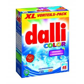 Proszek do prania tkanin kolorowych 3,36 kg DALLI