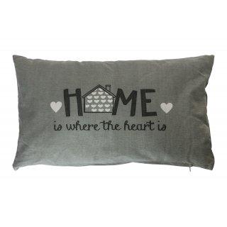 Poduszka dekoracyjna Home szara 30x50 BBK