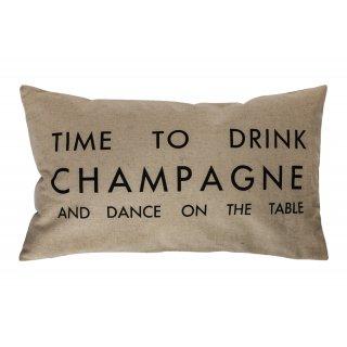 Poduszka dekoracyjna Time to drink 30x50 BBK