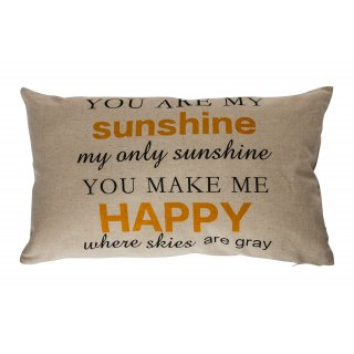 Poduszka dekoracyjna Sunshine Happy 30x50 BBK